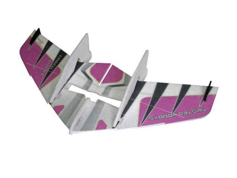 5.00/5. Комментариев: 0. 1. Летающее крыло Crack Wing (оранжевый) (RC-Facto