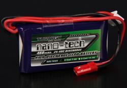 Акумулятор Turnigy nano-tech 460mAh 2S 25C
