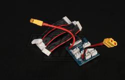 Плата паралельної зарядки/балансування LiPo з XH/PQ/TP конекторами і силовим XT-60