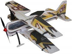 Модель для 3D-пілотажу Crack PITTS (жовта)