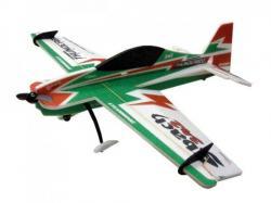 Модель для 3D-пілотажу Sbach (зелена)