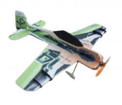Модель для 3D-пілотажу Crack Yak (зелено-oранжева)