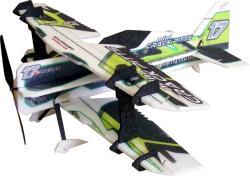 Модель для 3D-пілотажу з Crack Pitts Mini (зелена)