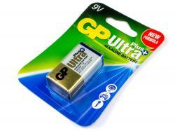 """Батарейка GP Ultra Plus """"крона"""" 9В"""