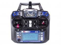 Радіоапаратура FlySky FS-I6 6Ch (з приймачем FS-IA6B з телеметрією)