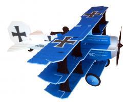 Модель для 3D-пілотажу Crack Fokker Dr.1 Triplane