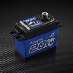 Сервомеханізм цифровий вологозахищений Power HD LW-20MG SUPER TORQUE 60g/16.5kg/0.18sec (4.8V)
