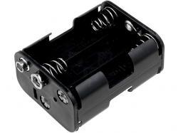 Відсік для акумулятора 6xAA кубик