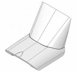 Кабіна для авіамоделі Multiplex FunCub