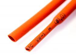 Термозбіжна трубка 1мм (Червона)