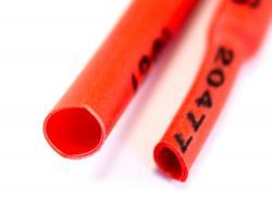 Термозбіжна трубка 2мм (Червона)