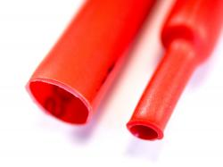 Термозбіжна трубка 4мм (Червона)