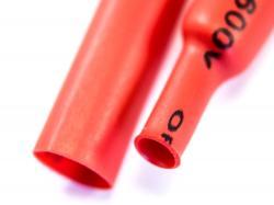 Термозбіжна трубка 5мм (Червона)