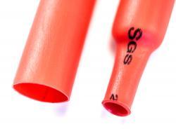 Термозбіжна трубка 6мм (Червона)