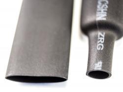 Термозбіжна трубка 8мм (Чорна)