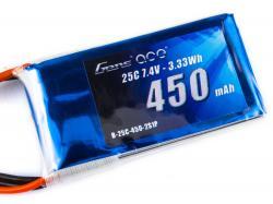 Акумулятор Gens Ace 450mAh 2S 25C