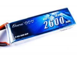 Акумулятор Gens Ace 2600mAh 3S 45C