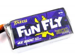 Акумулятор TATTU FunFly 1300mAh 4S 100C