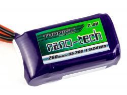 Акумулятор Turnigy nano-tech 260mAh 2S 35C