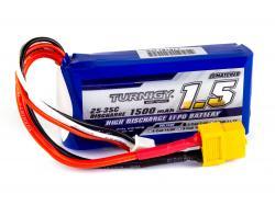Акумулятор Turnigy 1500mAh 2S 25C