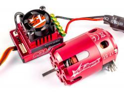 Безколекторна система Turnigy TrackStar 1/10 17.5T 2270KV/80A