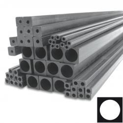 Трубка квадратна карбонова 4мм x 4мм x 2.5мм х 1000мм