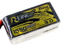 Акумулятор TATTU R-Line V3.0 1550mAh 4S 120C