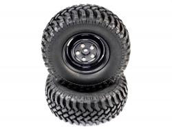 Колеса Rock Crawler 1/10 100мм (пара)