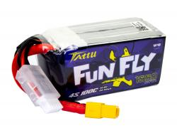 Акумулятор TATTU FunFly 1550mAh 4S 100C