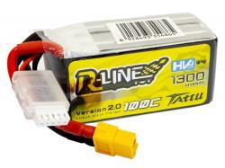 Акумулятор TATTU R-Line V2.0 HV 1300mAh 4S 100C
