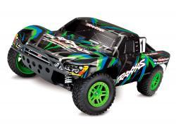 Автомодель шорт-корс Traxxas Slash 4x4 4WD 1/10 RTR (68054-1 Green)