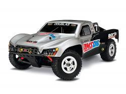Автомодель шорт-корс Traxxas Slash 4x4 4WD 1/16 RTR (70054-1 Silver)