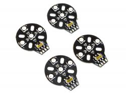 Комплект LED-підсвітки RGB для квадрокоптерів (4шт)