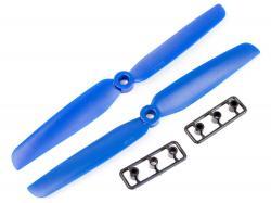 Пропелери для мультикоптера 6030 пара сині (CW+CCW)