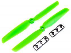 Пропелери для мультикоптера 6030 пара зелені (CW+CCW)