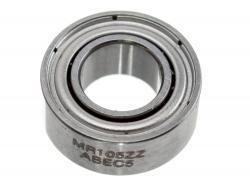 Підшипник з металевим пильником 5x10x4мм (MR105ZZ) ABEC 5
