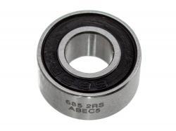 Підшипник з гумовим пильником 5x11x4мм (685-2RS) ABEC 5