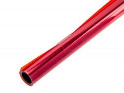 Плівка для обтягування моделі Темно-червона прозора - 2м