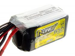 Акумулятор TATTU R-Line V1.0 650mAh 6S 95C