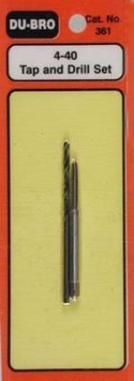 Комплект мітчик (3/32) + свердло для нього