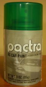 Фарба Pactra 107мл metallic green (зелена-металік)