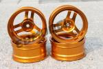 Диски алюмінієві Cmartlink RC 1/10 Drift Wheels Rim (золоті)