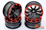 Комплект дисків коліс для шосейних автомоделей 1/10 (чорні)