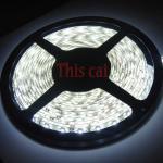 LED cтрічка 3528 холодний білий колір, вологозахищена  IP65 (5см)