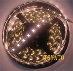 LED cтрічка 5050, теплий білий колір,чорна основа, вологозахищена IP65 (5см)