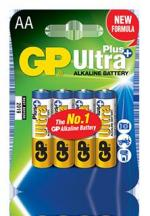 Батарейка GP Ultra Plus Alkaline АА