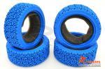 Комплект шосейної гуми для автомоделей 1/10 Touring Car L Pattern (сині)