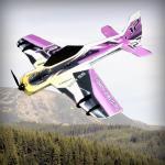 Модель для 3D-пілотажу Crack Yak LITE Жовто-фіолетова