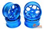 Диски алюмінієві 1/10 RC On-Road DRIFT (сині)