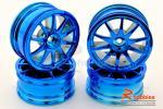 Комплект дисків коліс для шосейних автомоделей 1/10 (Cині)